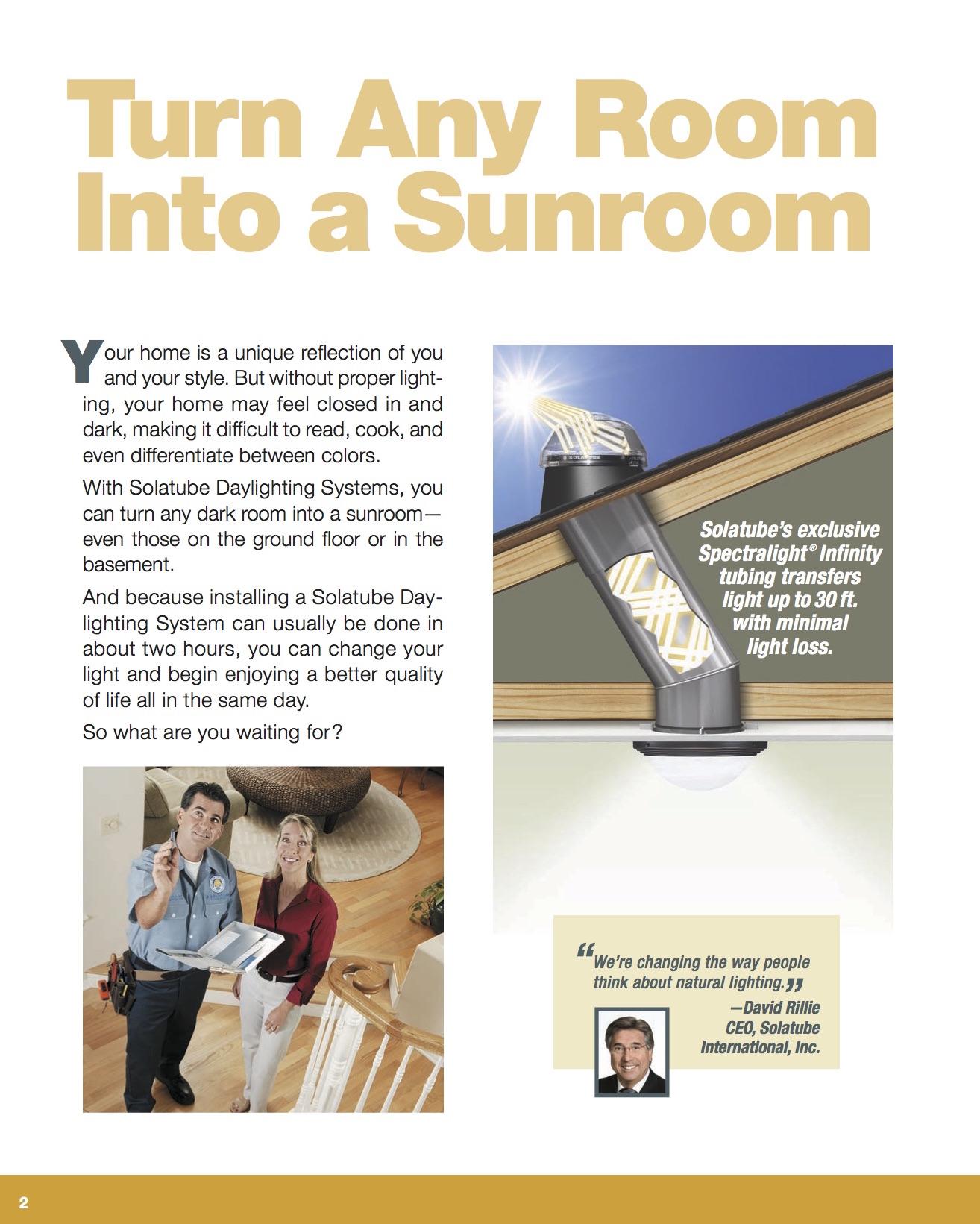 Brochure, DRTV page 2